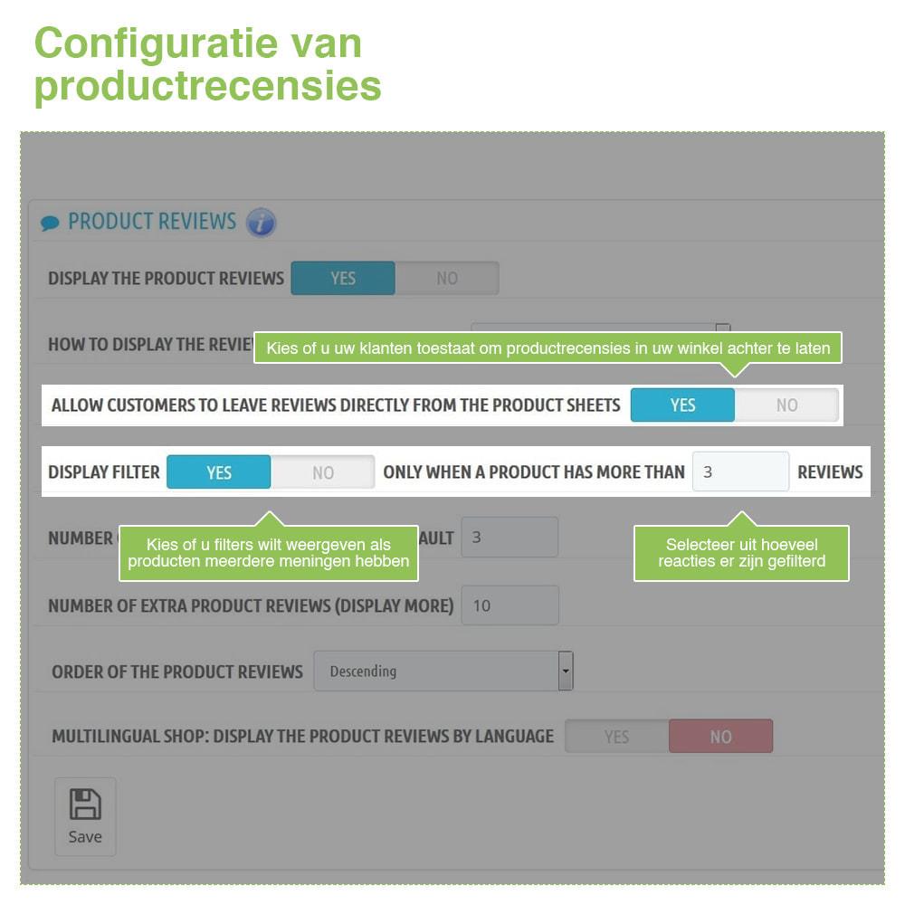 module - Klantbeoordelingen - Shop Recensies + Productbeoordelingen + Rich Snippets - 15