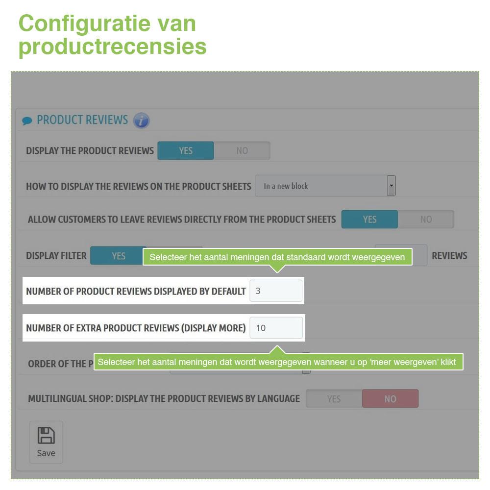 module - Klantbeoordelingen - Shop Recensies + Productbeoordelingen + Rich Snippets - 17