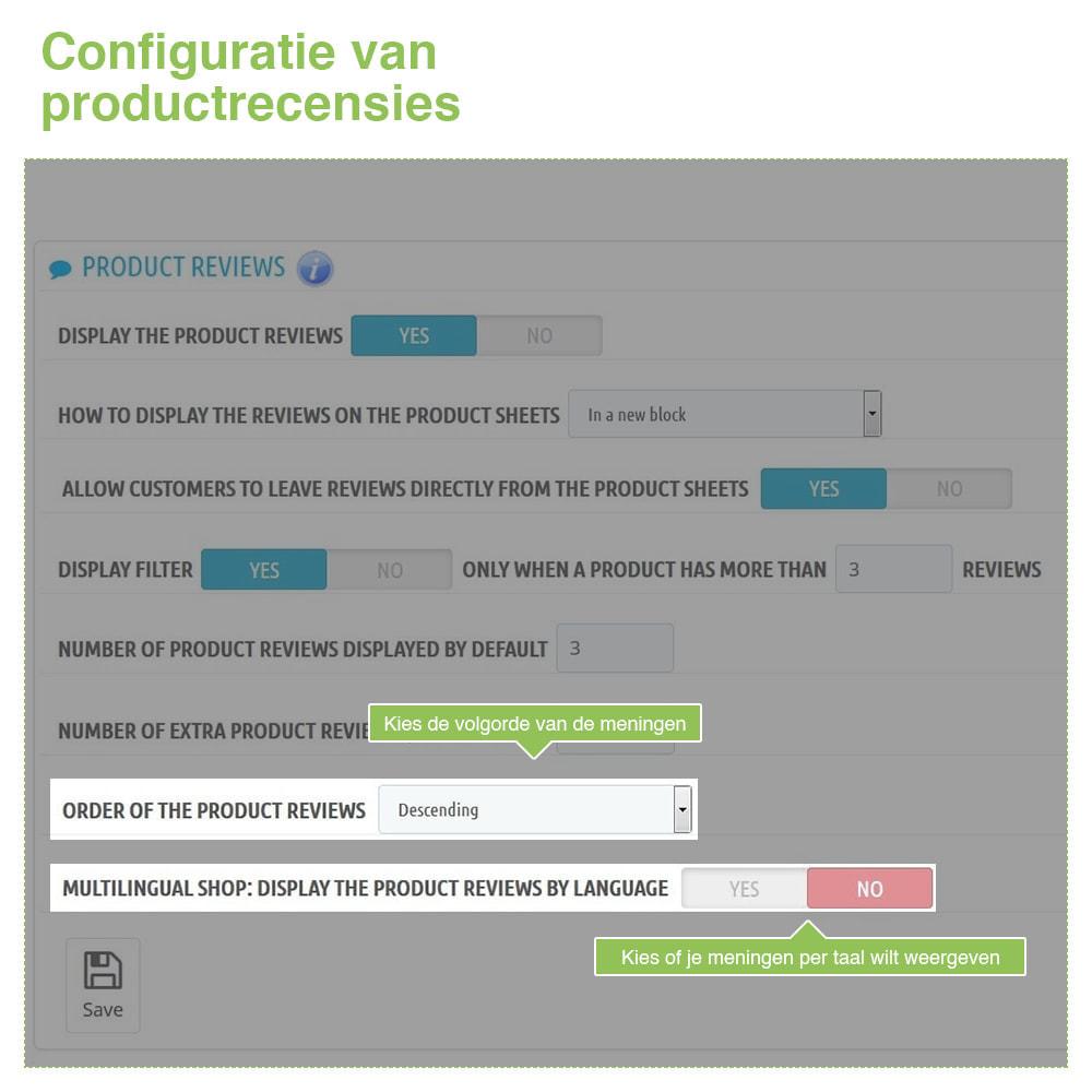 module - Klantbeoordelingen - Shop Recensies + Productbeoordelingen + Rich Snippets - 18