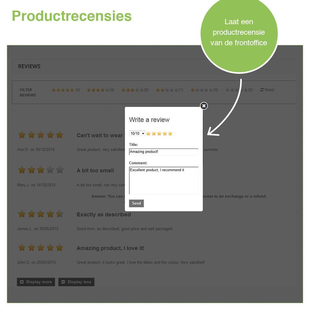 module - Klantbeoordelingen - Shop Recensies + Productbeoordelingen + Rich Snippets - 20