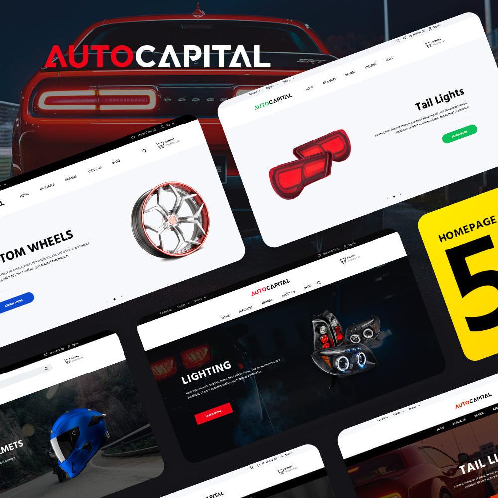 theme - Авто и Мото - AutoCapital - 1