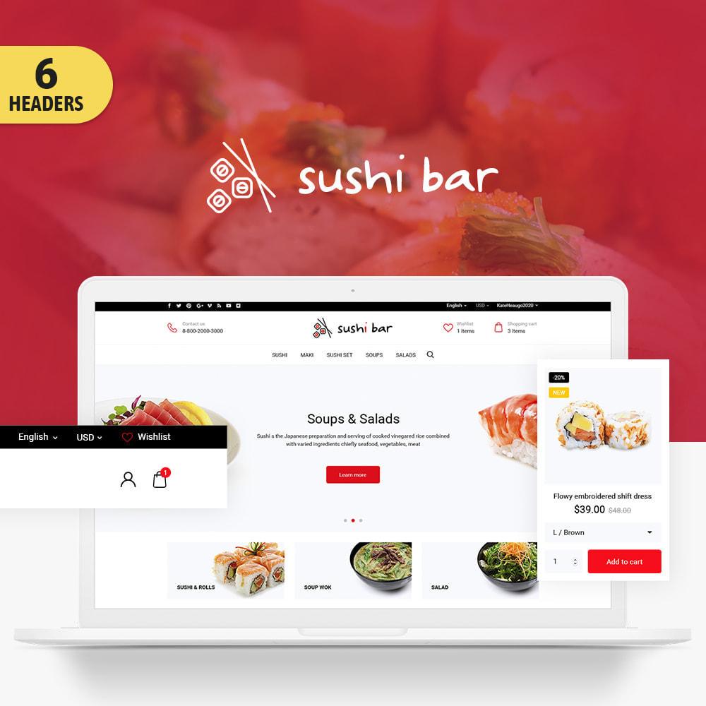 theme - Продовольствие и рестораны - Sushi bar - 1