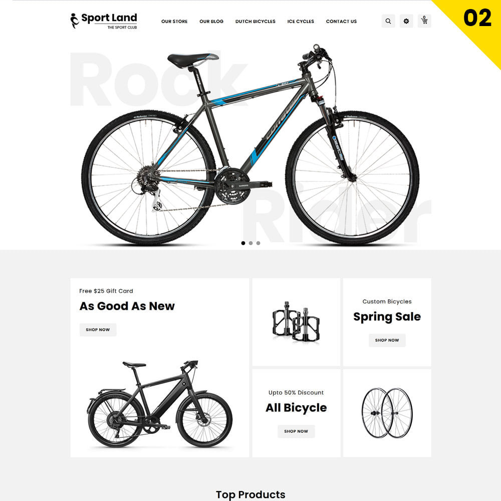 theme - Sport, Rozrywka & Podróże - Sport Land - The Mega Sport Store - 4