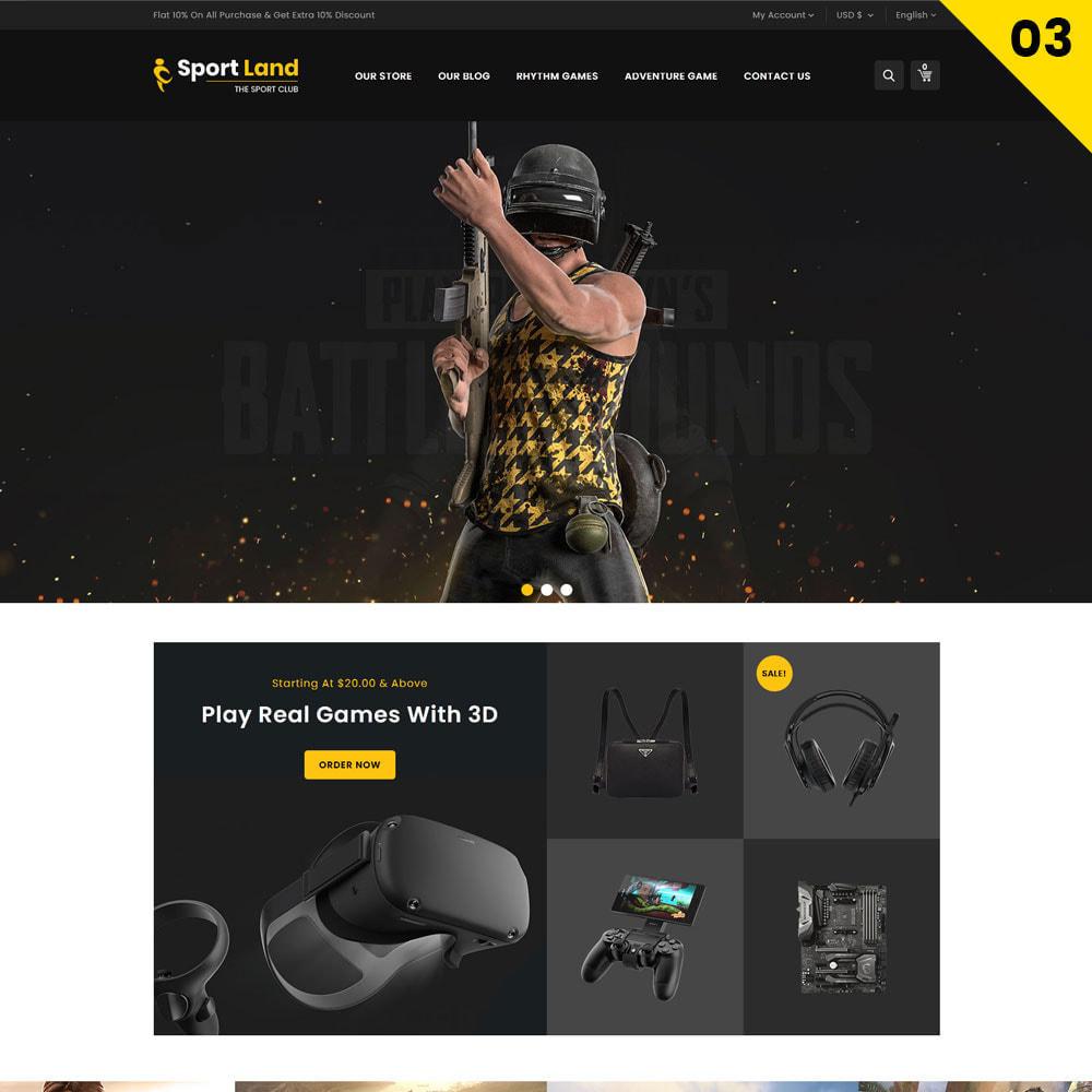 theme - Sport, Rozrywka & Podróże - Sport Land - The Mega Sport Store - 5