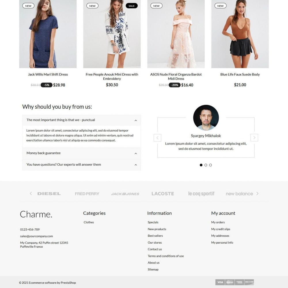 theme - Мода и обувь - Charme - 3