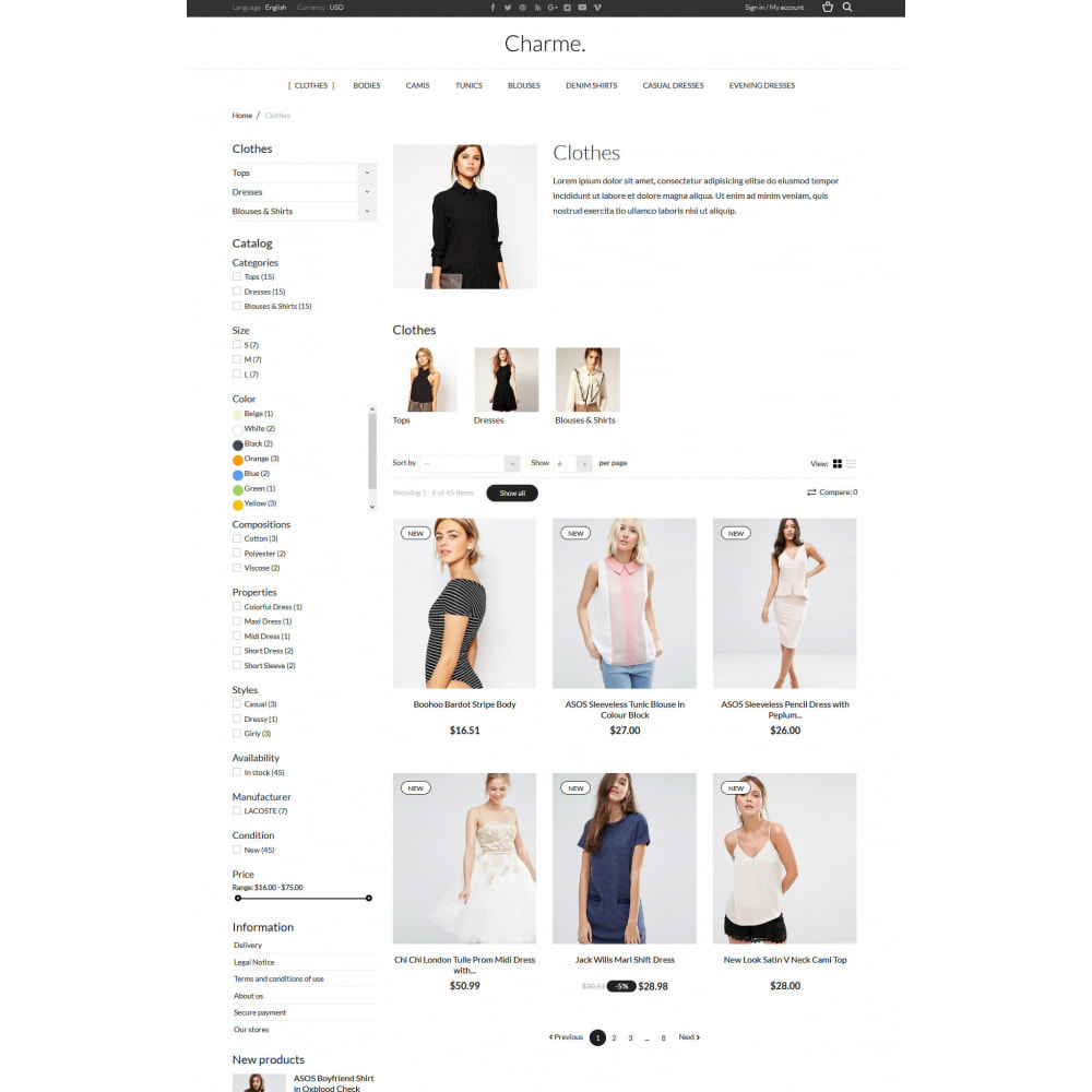 theme - Мода и обувь - Charme - 4
