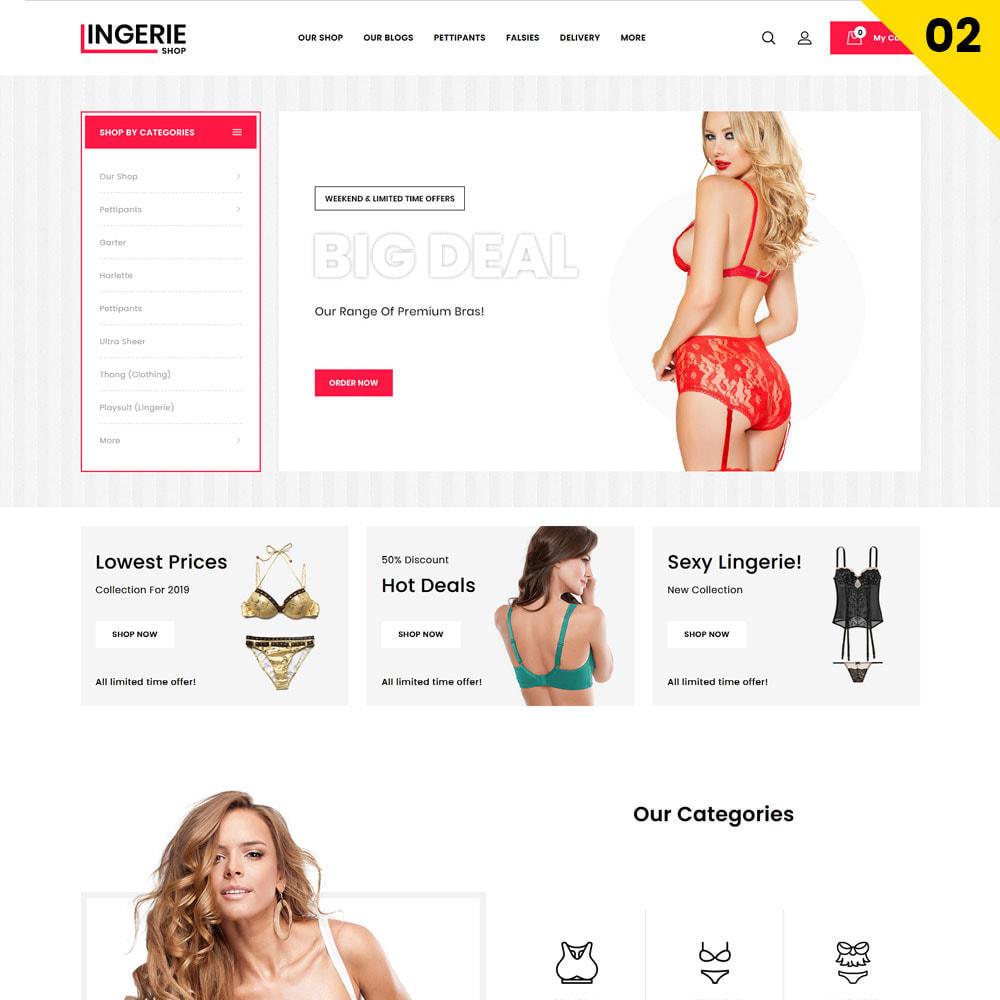 theme - Нижнее белье и товары для взрослых - Lingerie Shop The inner-wear store - 4