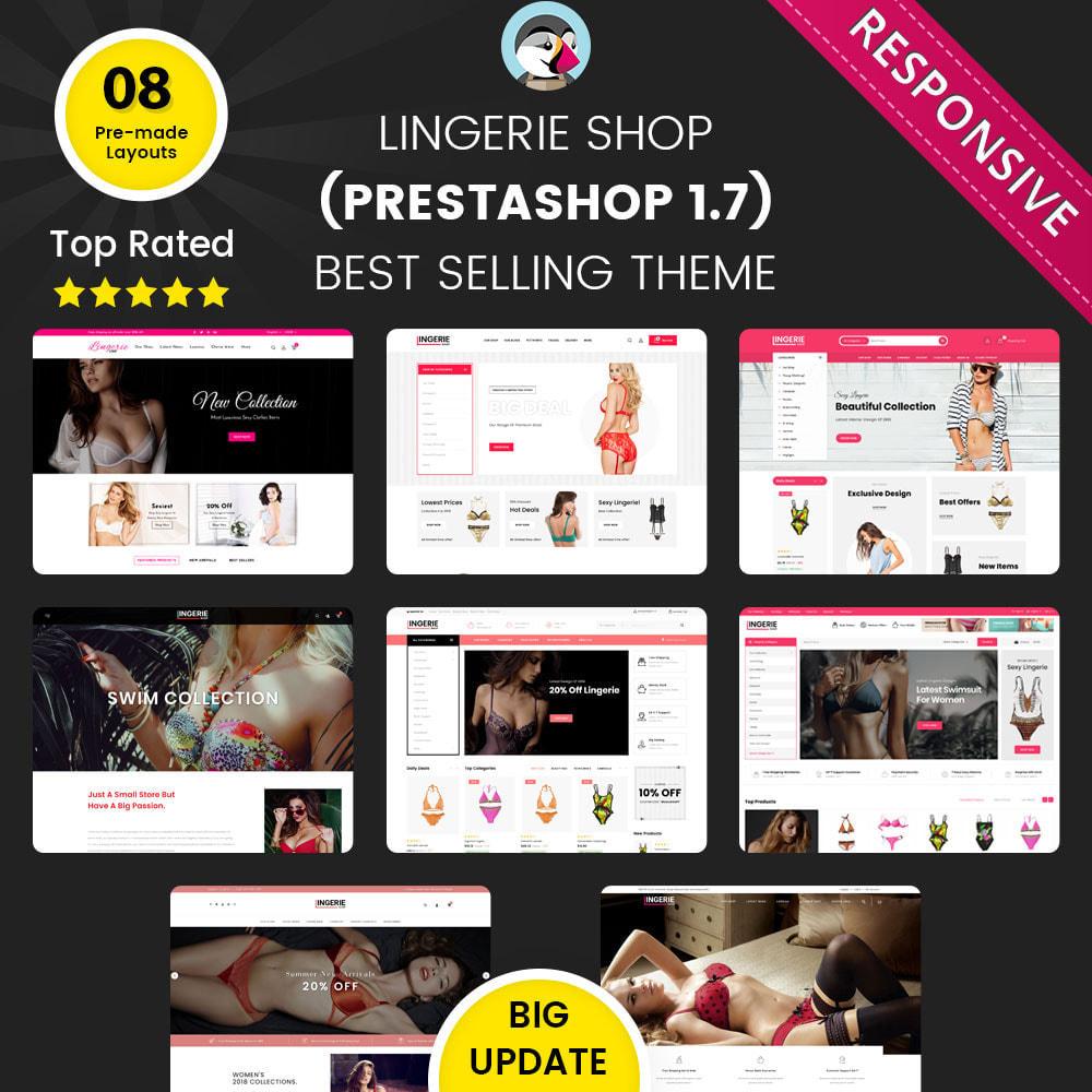 theme - Lingerie & Adulte - Lingerie Shop Le magasin de lingerie - 1