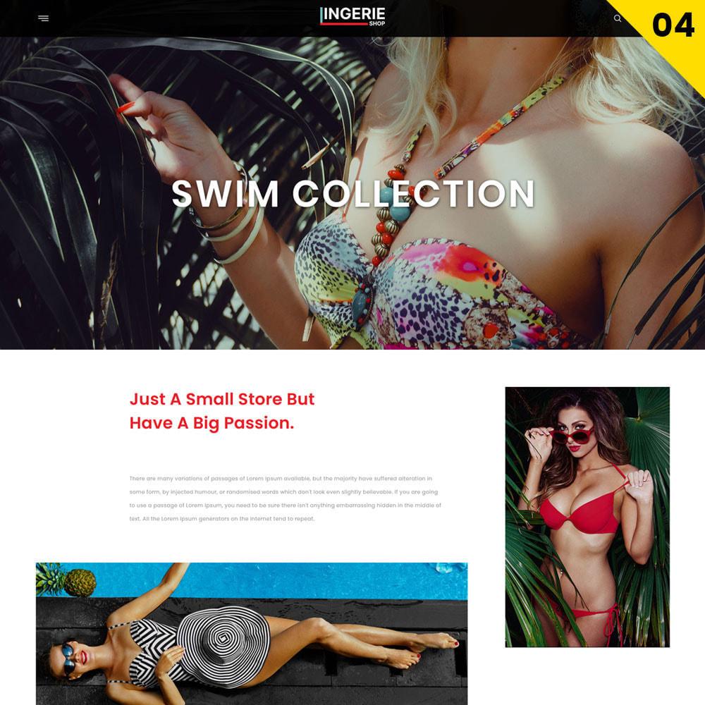 theme - Lingerie & Adulte - Lingerie Shop Le magasin de lingerie - 6