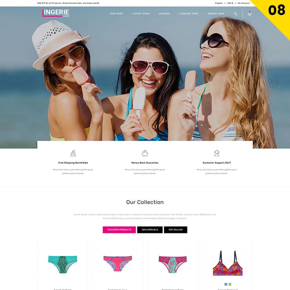 theme - Lingerie & Adulte - Lingerie Shop Le magasin de lingerie - 10