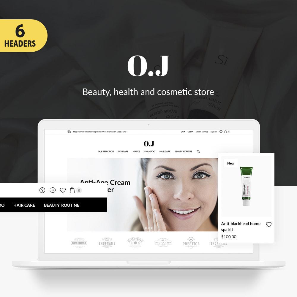 theme - Gesundheit & Schönheit - O.J. Cosmetics - 1