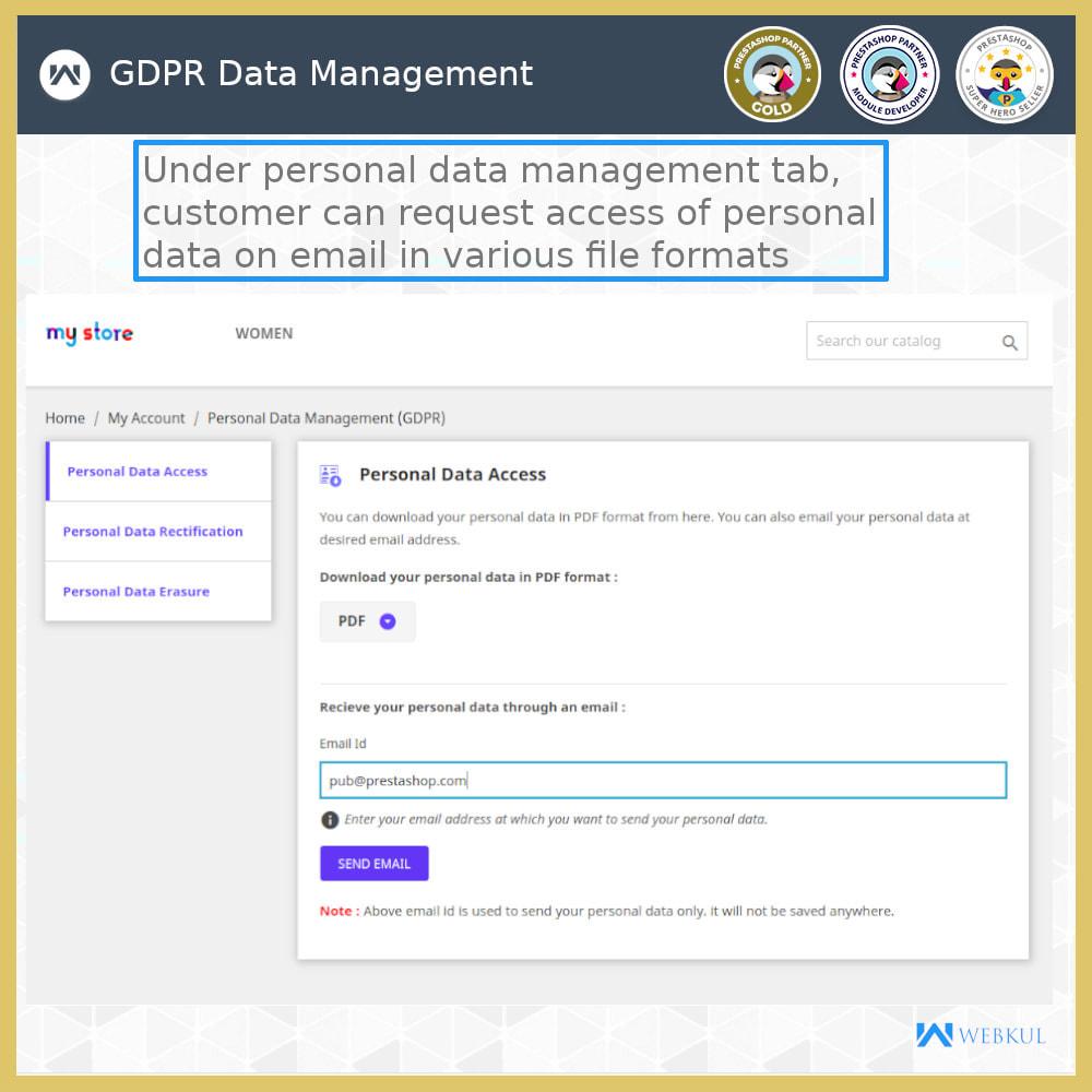 module - Jurídico - GDPR Compliance | Data Protection & EU Cookie Law - 9