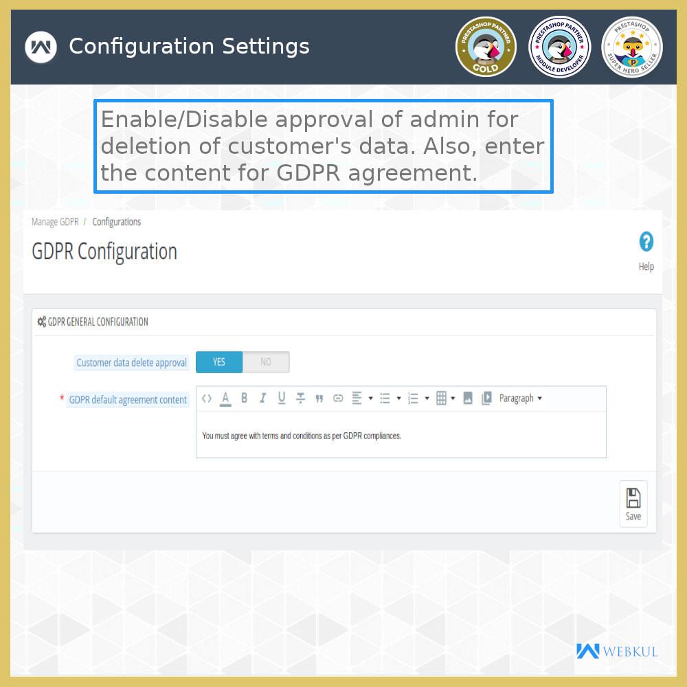 module - Jurídico - GDPR Compliance | Data Protection & EU Cookie Law - 13