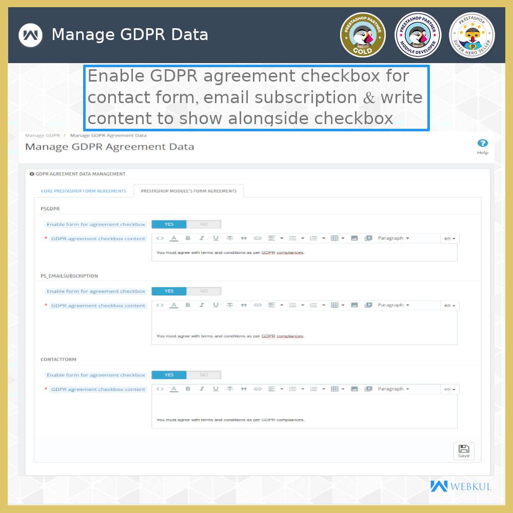 module - Jurídico - GDPR Compliance | Data Protection & EU Cookie Law - 17