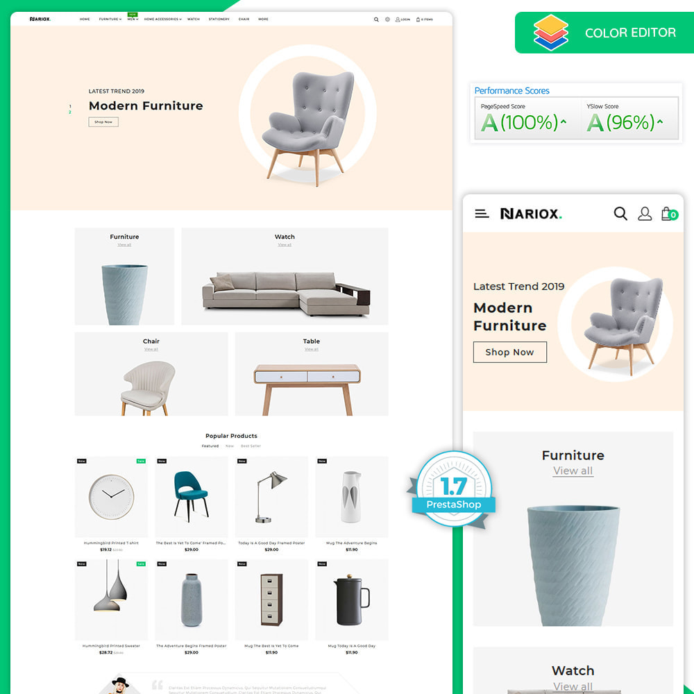 theme - Casa & Giardino - Nariox - The Best Furniture Store - 1