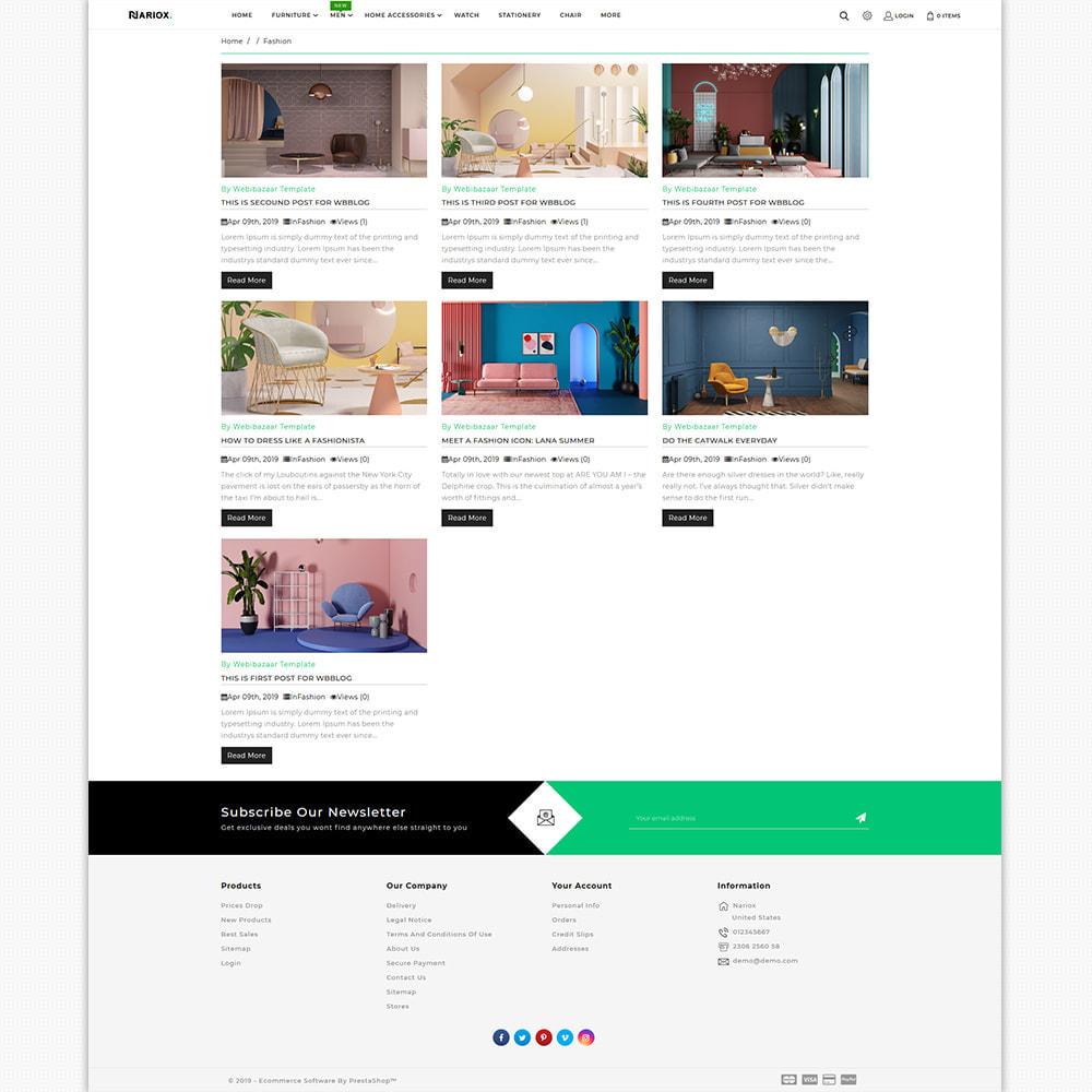 theme - Casa & Giardino - Nariox - The Best Furniture Store - 6