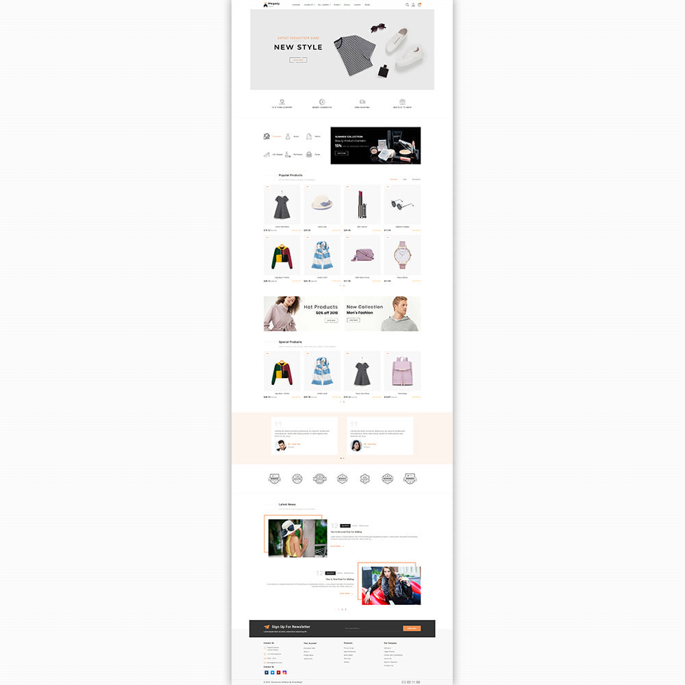 theme - Мода и обувь - Megaxy - The Best Fashion Super Store - 2