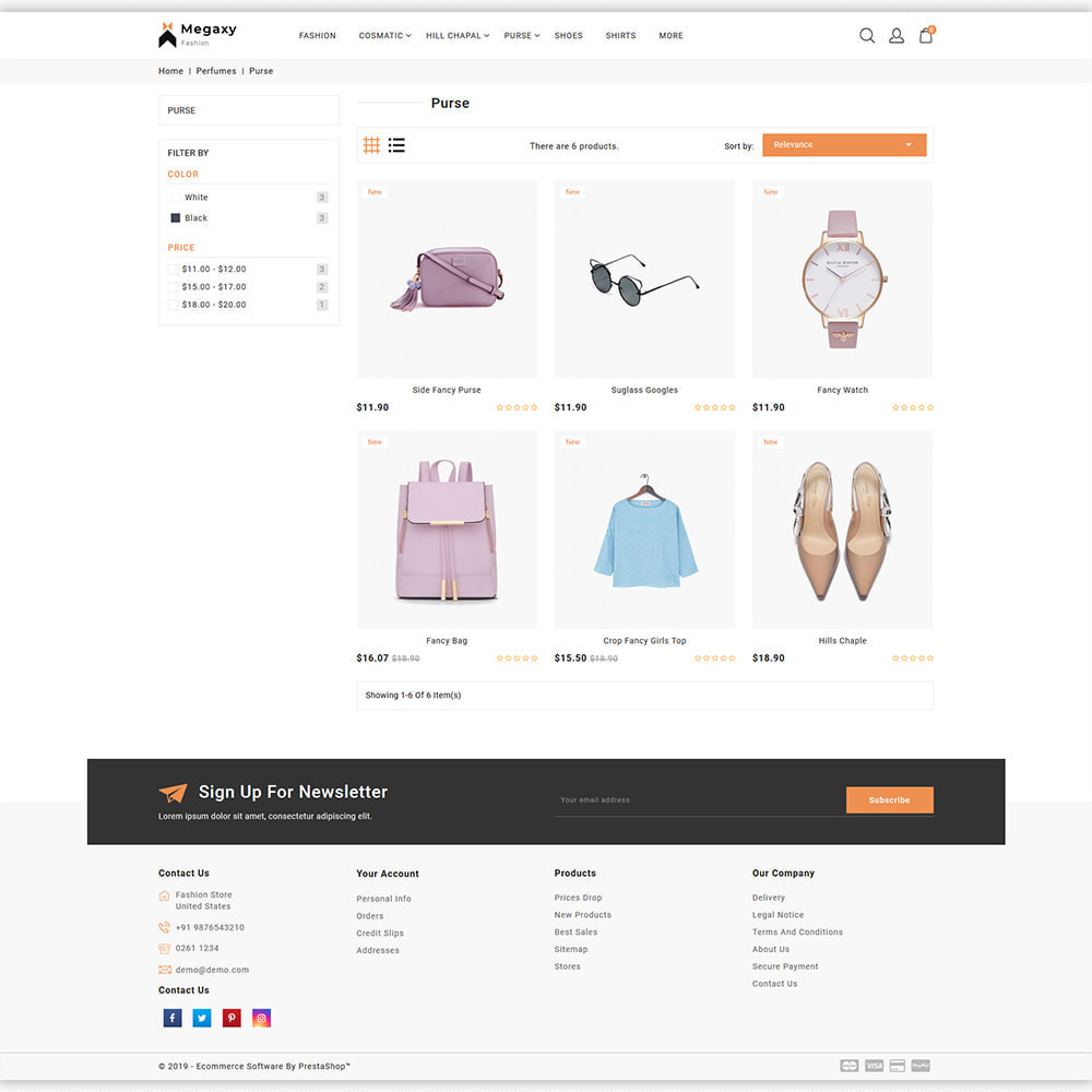 theme - Мода и обувь - Megaxy - The Best Fashion Super Store - 3