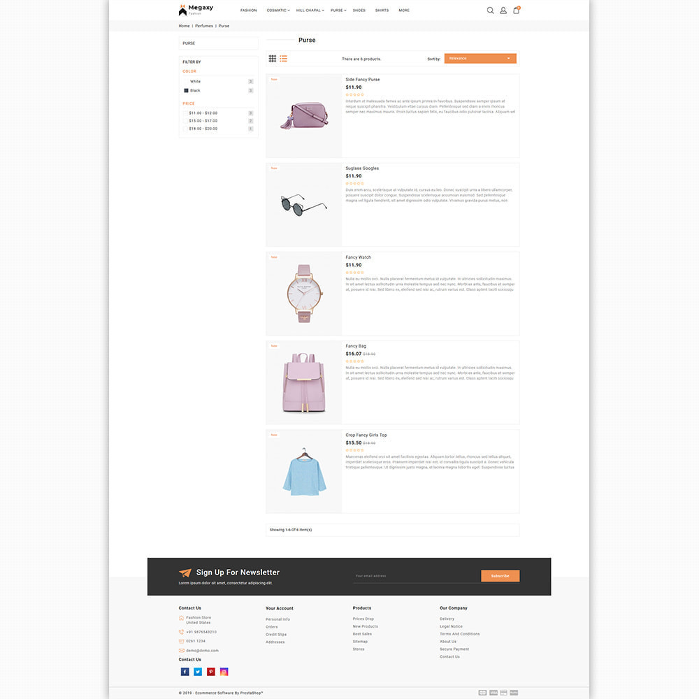theme - Мода и обувь - Megaxy - The Best Fashion Super Store - 4