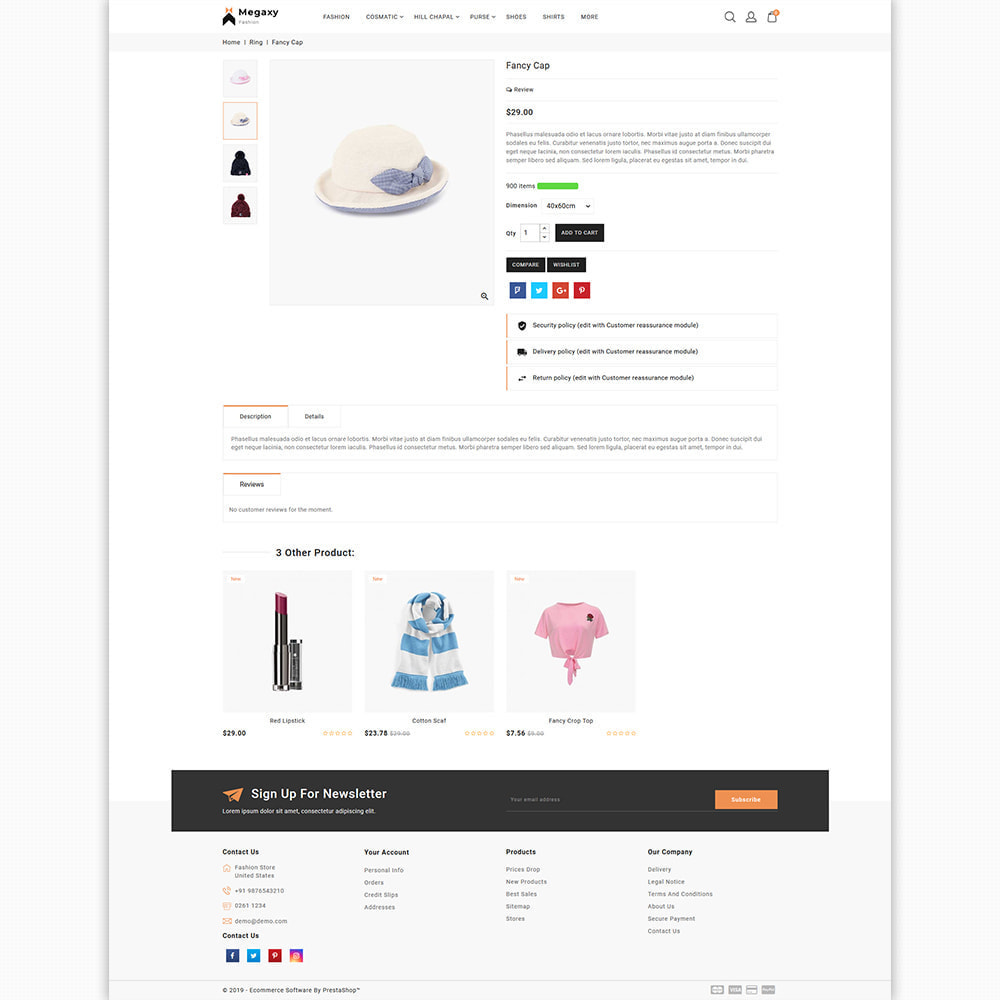 theme - Мода и обувь - Megaxy - The Best Fashion Super Store - 5