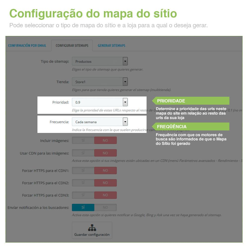 module - SEO (Referenciamento natural) - Sitemaps Pro Multi-Idiomas e Multi-Lojas – SEO - 3