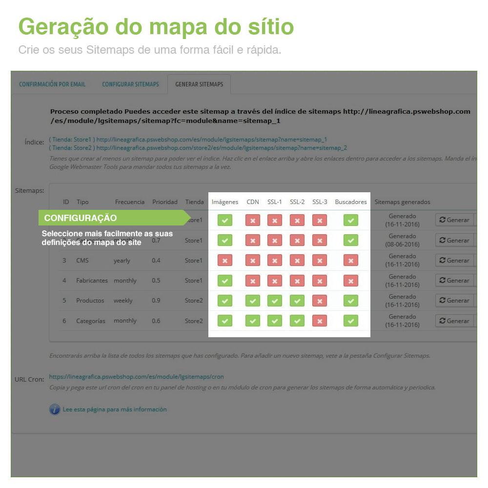 module - SEO (Referenciamento natural) - Sitemaps Pro Multi-Idiomas e Multi-Lojas – SEO - 7