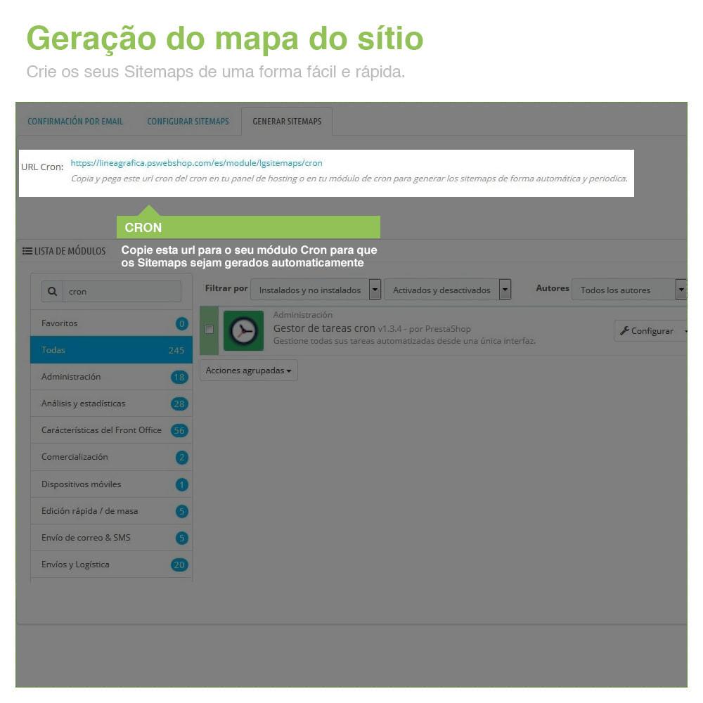 module - SEO (Referenciamento natural) - Sitemaps Pro Multi-Idiomas e Multi-Lojas – SEO - 8