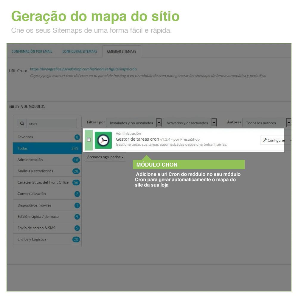 module - SEO (Referenciamento natural) - Sitemaps Pro Multi-Idiomas e Multi-Lojas – SEO - 9