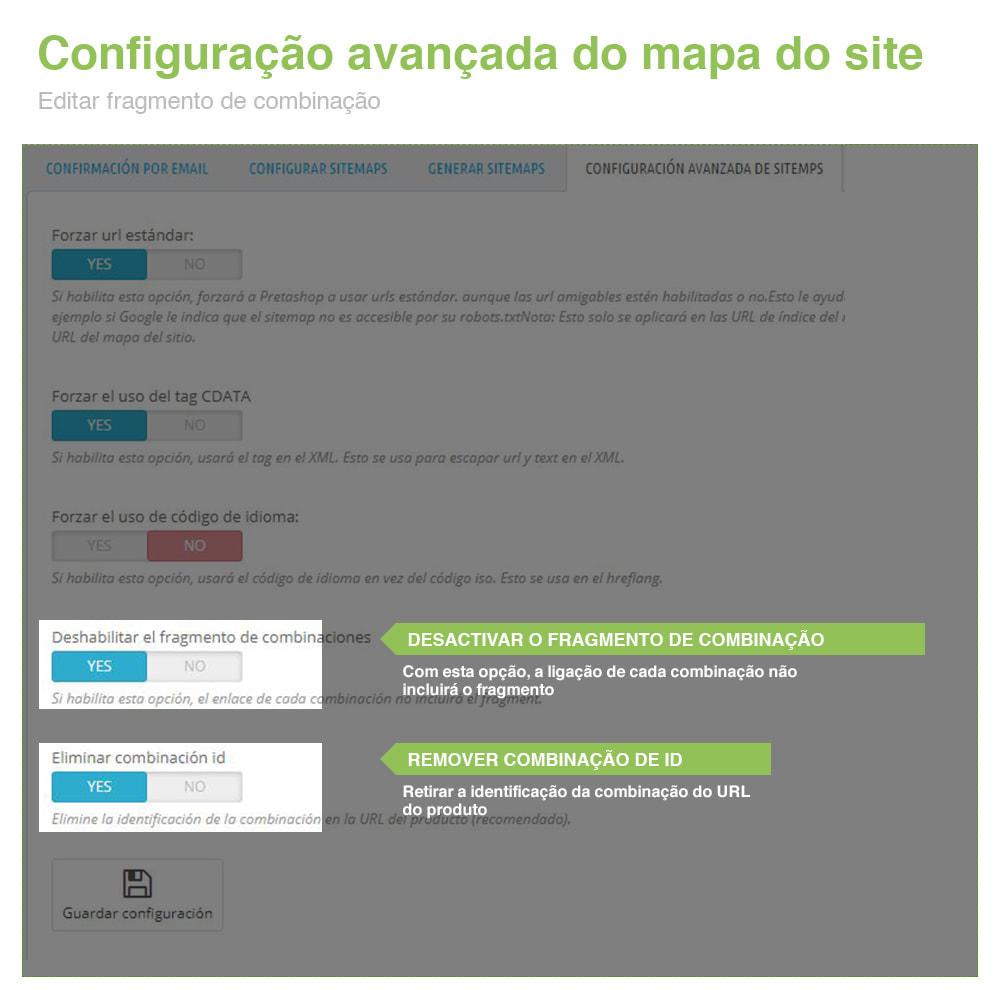 module - SEO (Referenciamento natural) - Sitemaps Pro Multi-Idiomas e Multi-Lojas – SEO - 12
