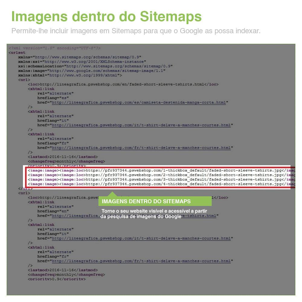module - SEO (Referenciamento natural) - Sitemaps Pro Multi-Idiomas e Multi-Lojas – SEO - 14