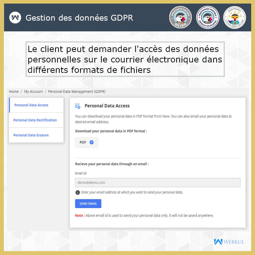 module - Législation - Conformité GDPR - 7