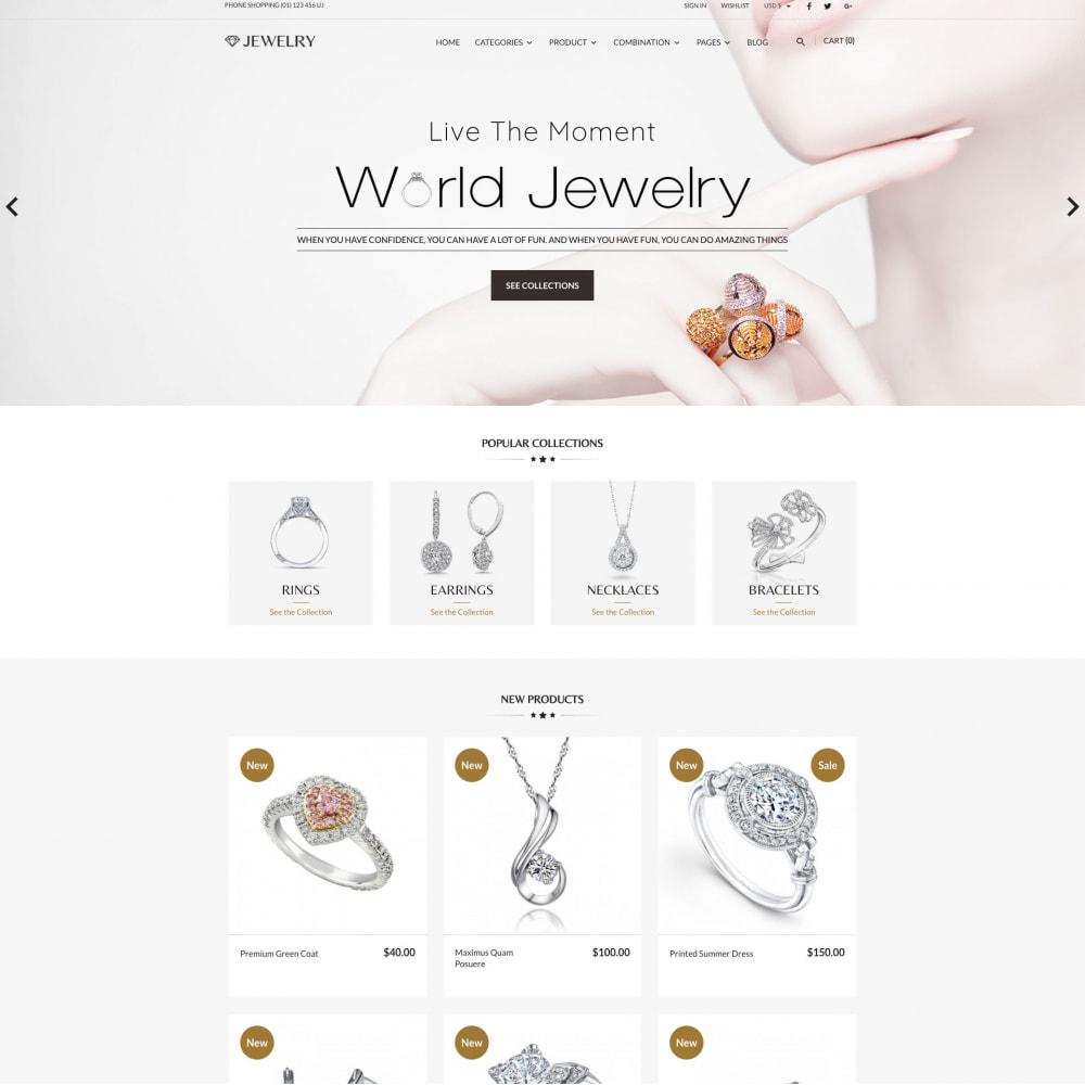 theme - Biżuteria & Akcesoria - Beauty & Jewelry Responsive Store - 1
