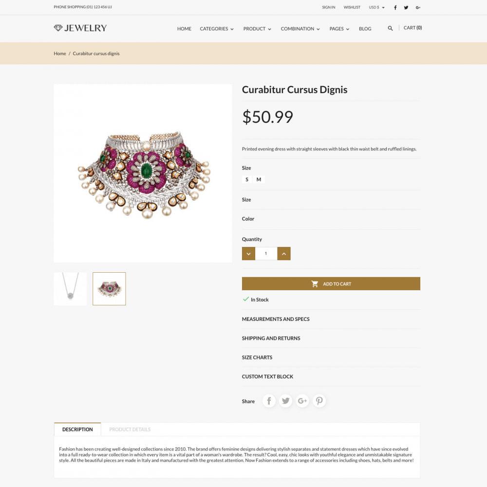 theme - Biżuteria & Akcesoria - Beauty & Jewelry Responsive Store - 3