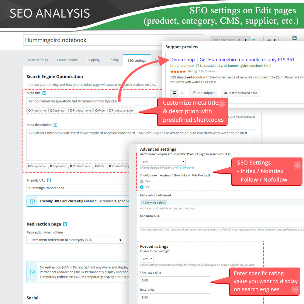 module - SEO (Referenciamento natural) - SEO Audit - Best SEO practices 2021 - Incredibly good - 13