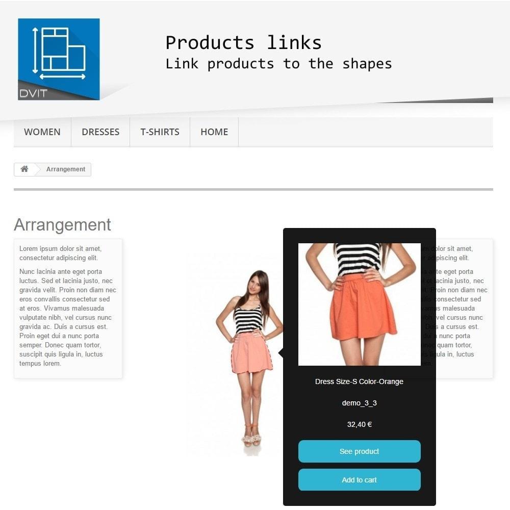 module - Personalización de la página - Puesta en escena de productos - 2