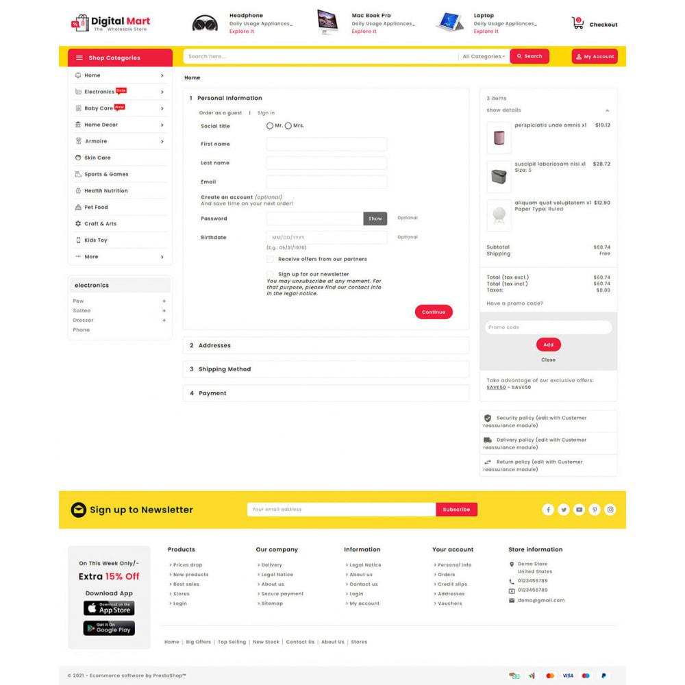 theme - Elektronica & High Tech - Digital Mart - Multi-purpose Mega Store - 17