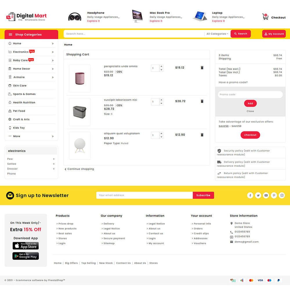 theme - Electronics & Computers - Digital Mart - Multi-purpose Mega Store - 16