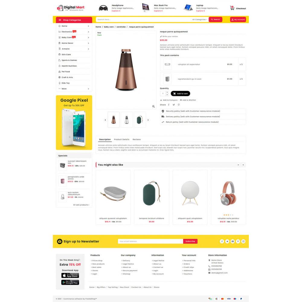 theme - Elektronika & High Tech - Digital Mart - Multi-purpose Mega Store - 15