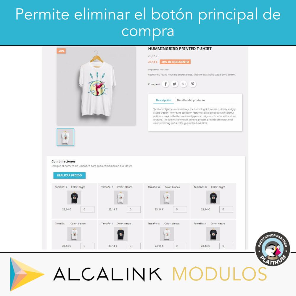 module - Combinaciones y Personalización de productos - Lista de combinaciones en ficha de producto - 3