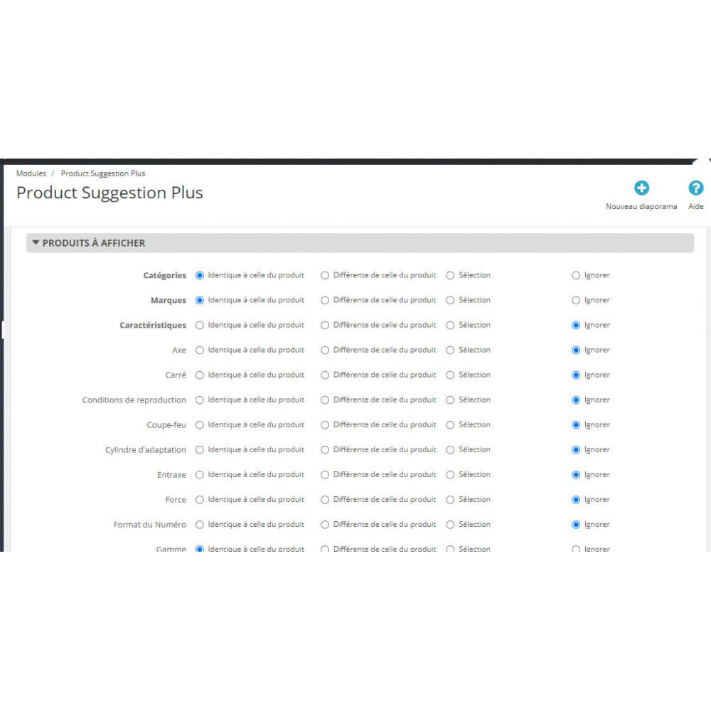 module - Ventas cruzadas y Packs de productos - Product Suggestion Plus - 4