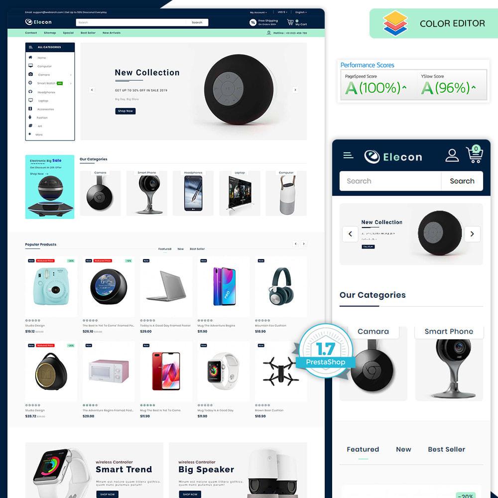 theme - Elektronik & High Tech - Elecon - Electronics Super Store - 1