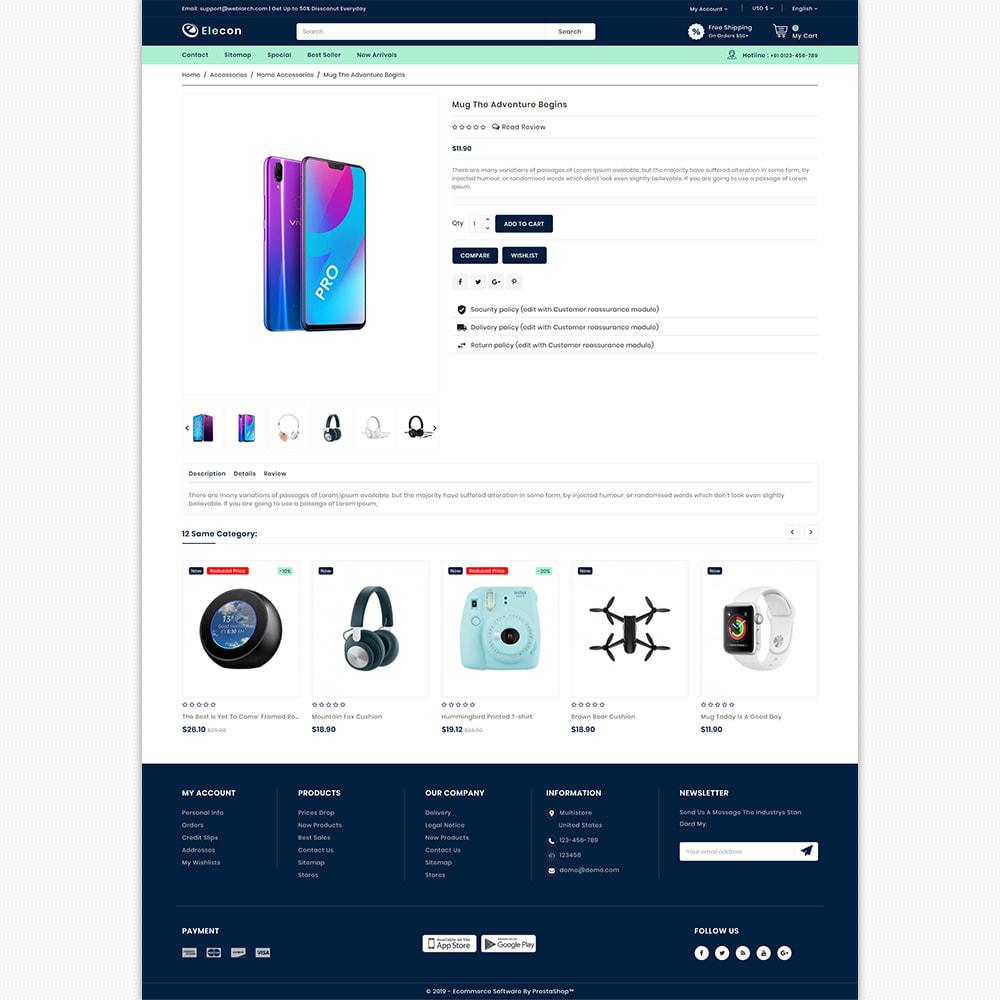 theme - Elektronik & High Tech - Elecon - Electronics Super Store - 5