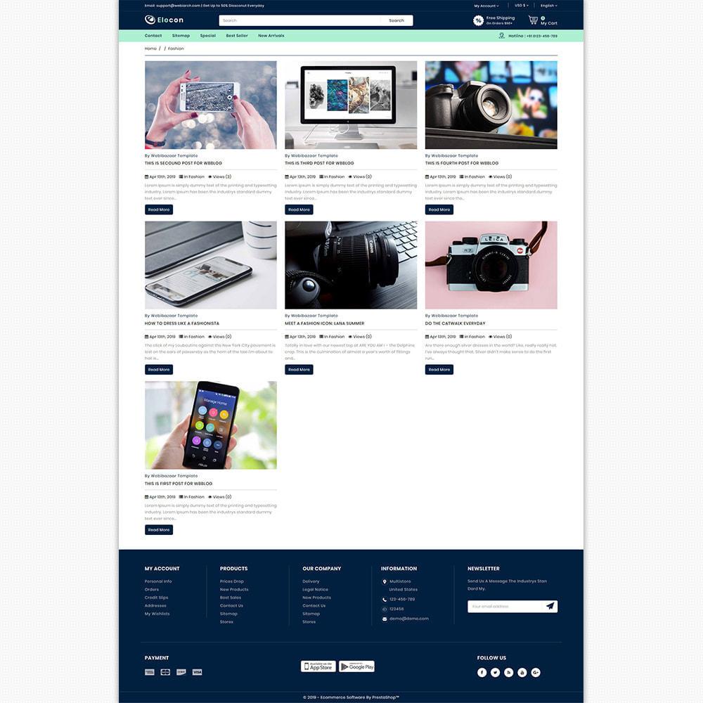 theme - Elektronik & High Tech - Elecon - Electronics Super Store - 6