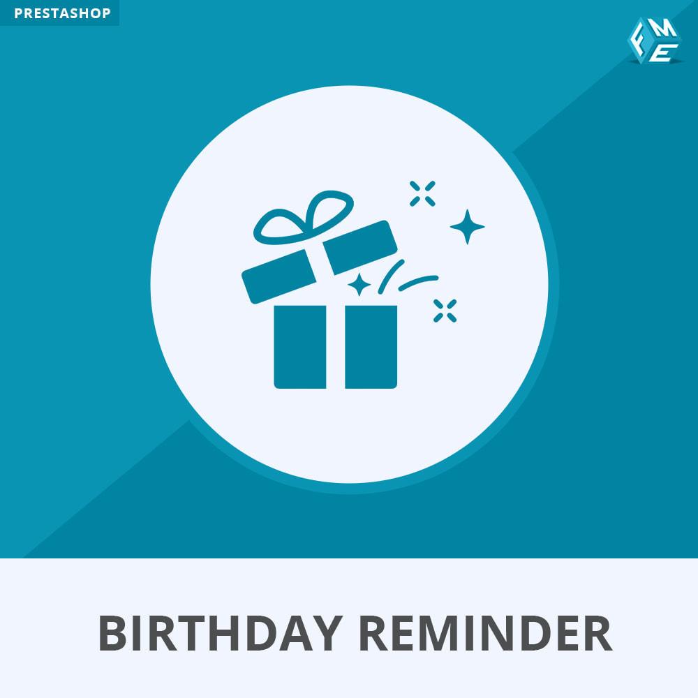 module - Remarketing & Shopping Cart Abandonment - Birthday Reminder - 1