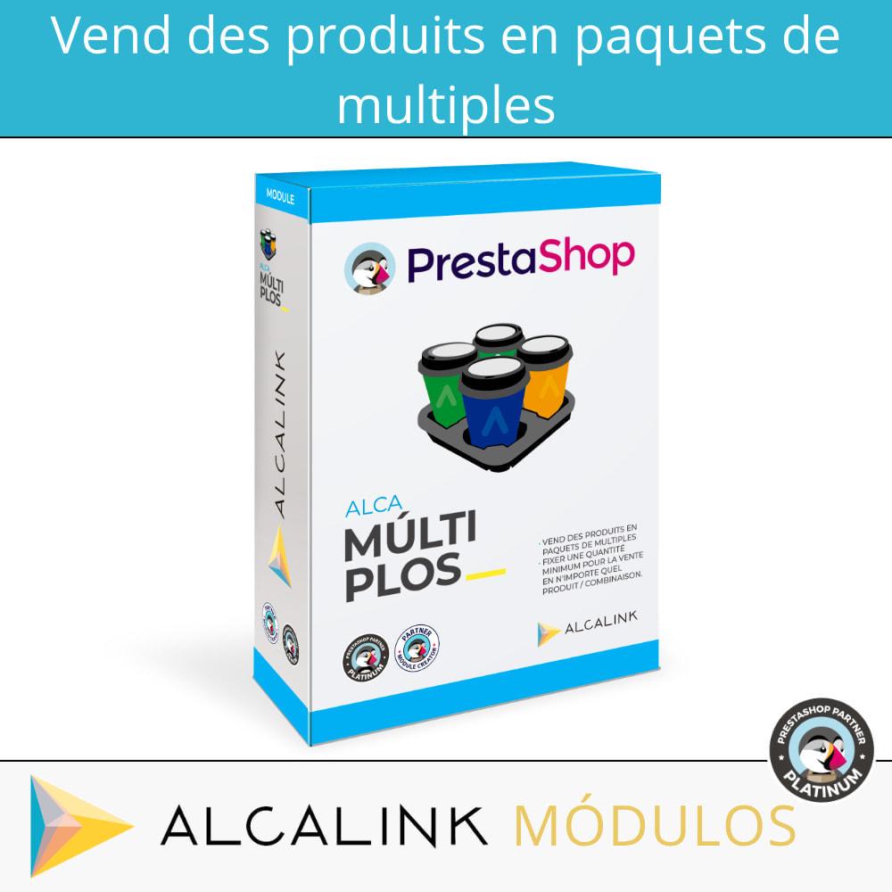 module - Ventes croisées & Packs de produits - Vendre des produits ou des déclinaisons en packs - 1