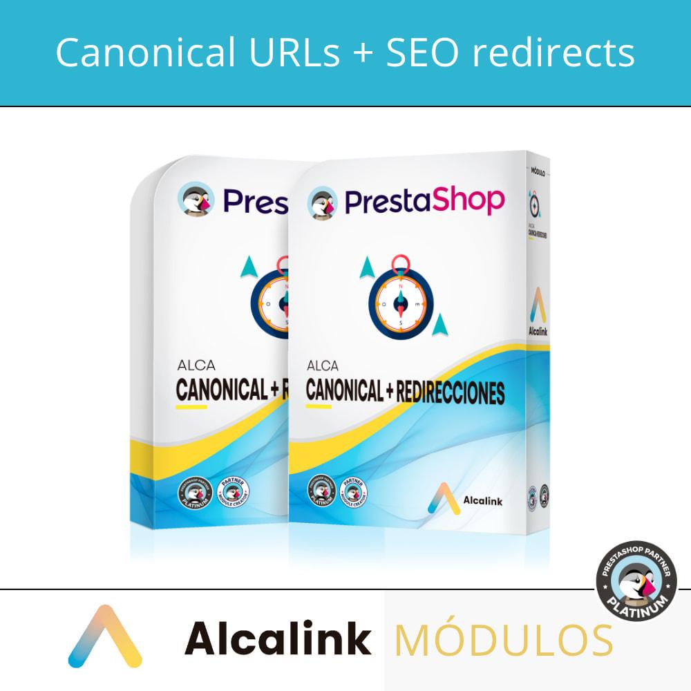 module - URL & Omleidingen - 2x1: Canonical SEO + SEO Redirects - 1