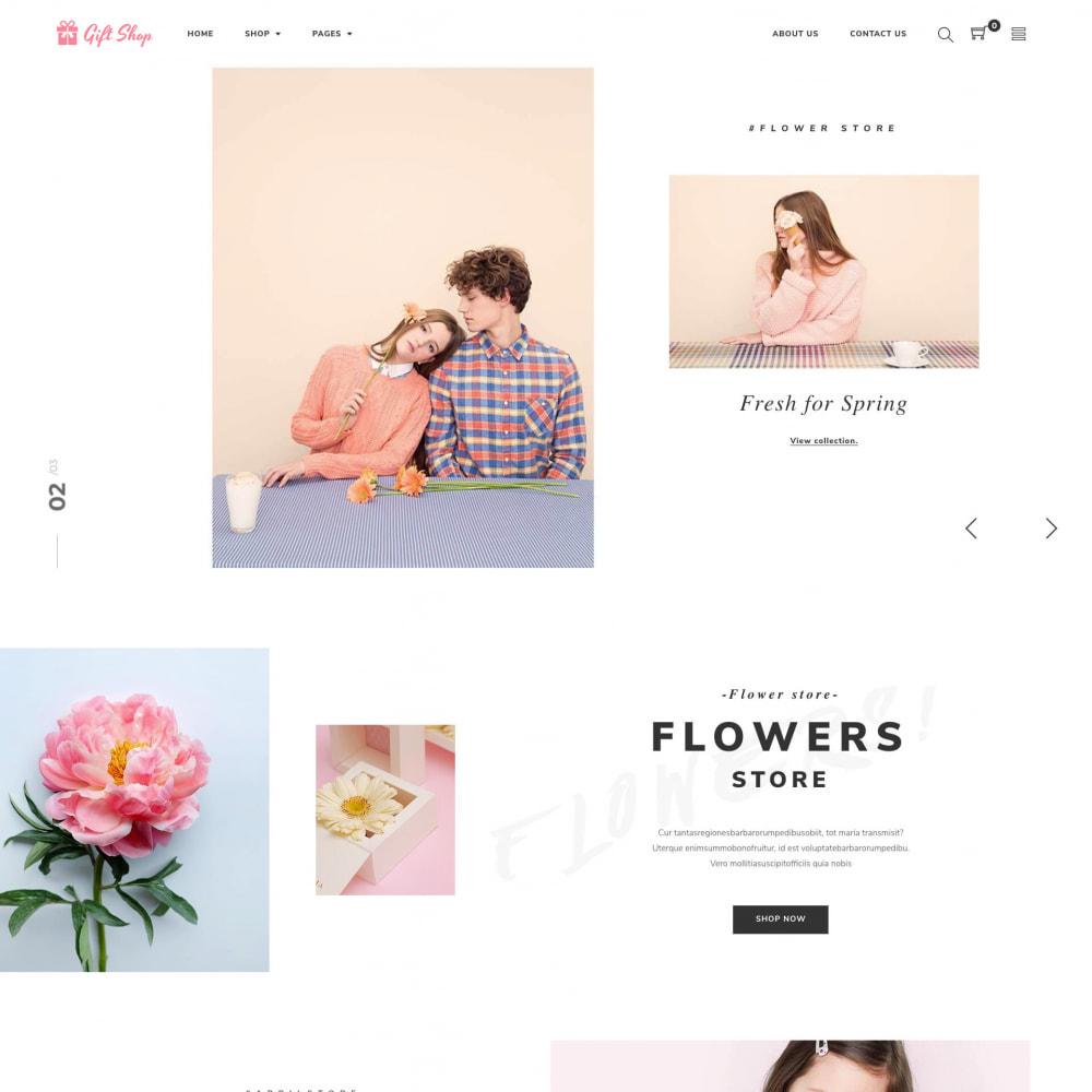 theme - Regali, Fiori & Feste - Flower Store eCommerce Bootstrap 4 - 1