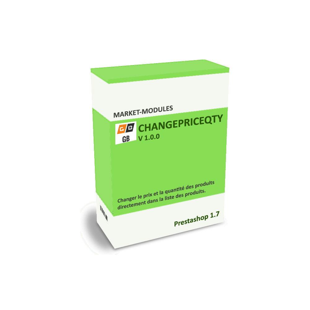 module - Zarządzanie cenami - changepriceqty: modify your prices and quantities - 1