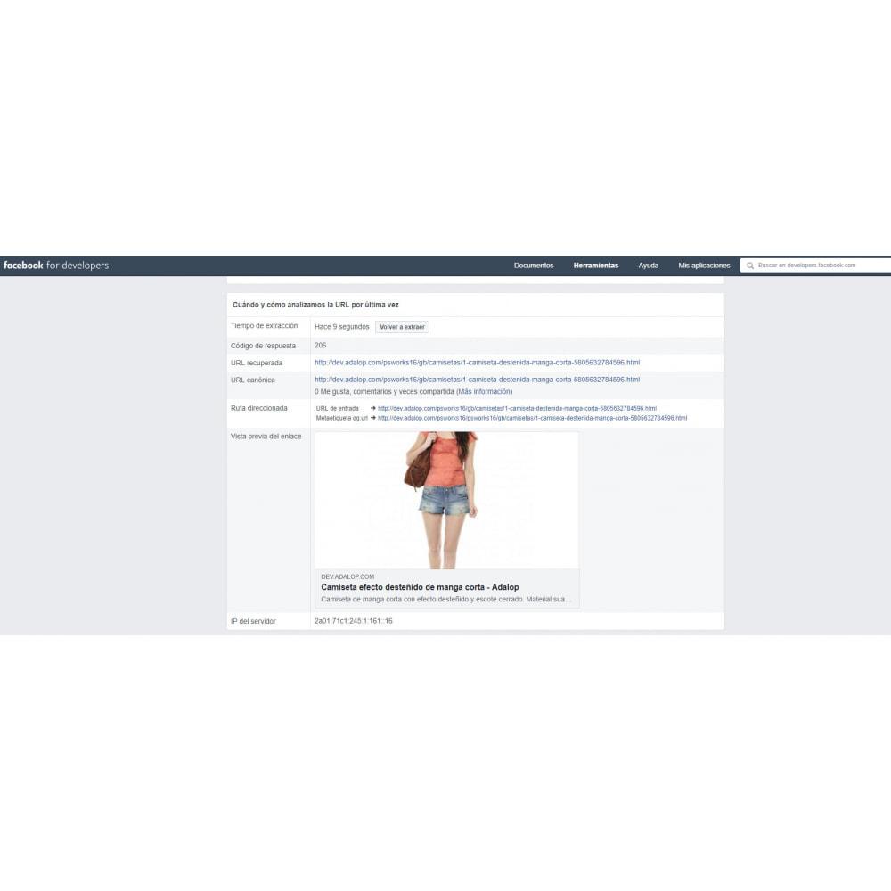 module - SEO (Posicionamiento en buscadores) - Integración completa y Personalización Open Graph - SEO - 9