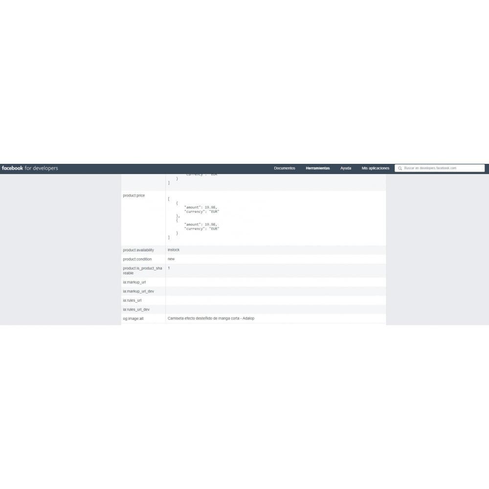module - SEO (référencement naturel) - Intégration complète et customisation du Open Graph - 11